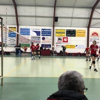 Photo taken at Volley Richa Michelbeke by Jordy V. on 3/28/2018