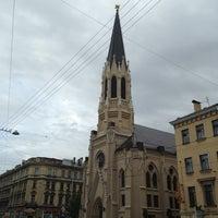Снимок сделан в Лютеранская церковь Святого Михаила пользователем . .. 5/26/2013