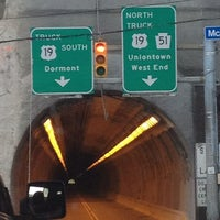 Photo taken at Pittsburgh Tunnel by Joseph V. on 6/1/2013
