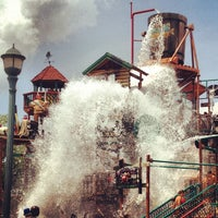 Photo taken at Dollywood's Splash Country by Joseph V. on 7/19/2013