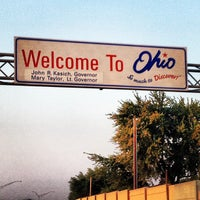 Photo taken at Michigan / Ohio State Line by Joseph V. on 8/20/2013