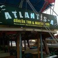 Photo taken at Atlantik A Teknesi by Resul .. on 8/22/2016
