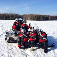 Photo taken at Снегоходия by Elena F. on 2/28/2015