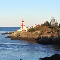 Photo taken at Head Harbour Lightstation - East Quoddy by vito m. on 10/13/2013