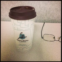 Photo taken at Caribou Coffee by vito m. on 5/8/2013