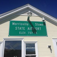 Photo taken at Morrisville-Stowe State Airport (MVL) by Emily C. on 8/10/2013