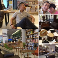 Photo taken at 水牛書店 Buffalo Bookstore by Keith C. on 10/7/2015