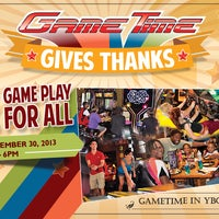 Photo taken at GameTime by GameTime on 11/8/2013
