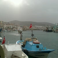 Photo taken at Dikili by Tuğçe P. on 1/25/2015