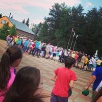 Photo taken at ДОЛ им. К. Заслонова by Мария Т. on 6/7/2013