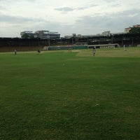 Photo taken at Lal Bahadur Shastri Stadium by Sundeep D. on 8/31/2013