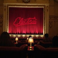 Photo taken at Electric Cinema by diana s. on 12/2/2012