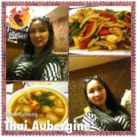 Photo taken at Thai Aubergine by Tea D. on 9/8/2013