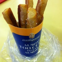 Photo taken at Auntie Anne's by Tea D. on 10/2/2014