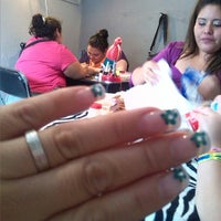 Photo taken at Uñas Merry's by Lizz A. on 7/3/2013