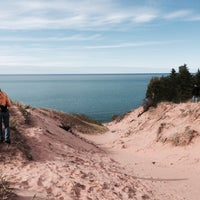 Photo taken at Pictured Rocks National Lakeshore by Jim W. on 9/12/2014