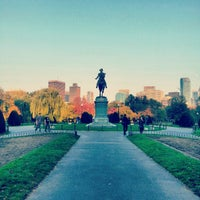 Photo prise au Boston Public Garden par Vincent C. le10/26/2012
