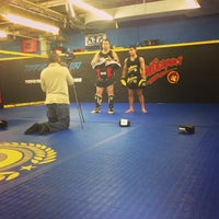 Photo taken at Roufusport MMA Academy by Alan B. on 1/9/2014