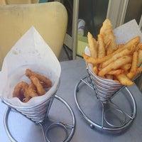 Photo taken at Fishbone Cafe by Kelvin I. on 1/9/2014