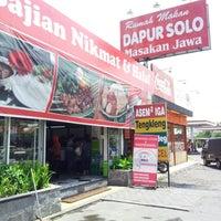 Photo taken at Dapur Solo by Dewi_arum m. on 11/6/2012