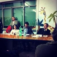 Photo taken at Biblioteca Comunale Castelfranco di Sopra by Riccardo B. on 2/21/2014