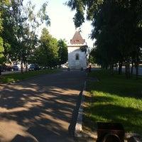 Photo taken at Аллея на Ленинском🌆 by Никита К. on 6/18/2013