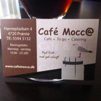 Photo taken at Cafe Mocc@ by Thomas Kjærgaard J. on 6/30/2013