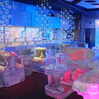 Photo taken at Chillout Ice Lounge Dubai by Mayyar J. on 10/17/2014