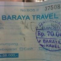 Photo taken at Baraya Travel by Engga W. on 6/24/2013