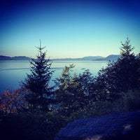 Photo taken at Chuckanut Drive by Frank S. on 10/6/2012