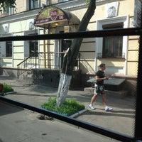 """6/7/2013에 Даша К.님이 Остановка """"ул. Тухачевского""""에서 찍은 사진"""