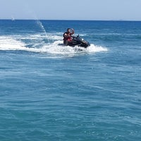 Photo taken at Hilton Water Sports by OKAN Y. on 8/4/2014
