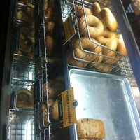 Photo taken at Einstein Bros Bagels by Justin M. on 1/4/2013