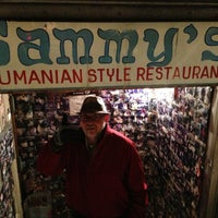 Photo taken at Sammy's Roumanian Steakhouse by Joel W. on 2/2/2013