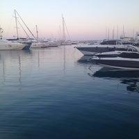 Photo taken at Limassol Marina by Iryna I. on 8/25/2014