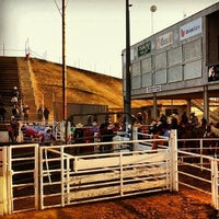 Photo taken at Clovis Rodeo Grounds by Robert R. on 6/12/2013