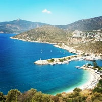 Photo taken at Kalkan Otogar by Barış Y. on 9/25/2014