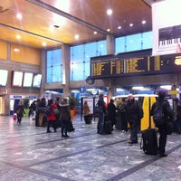 Photo taken at Nantes Railway Station by Lin K. on 3/22/2013