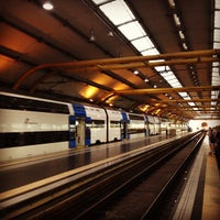 Photo taken at Fiumicino Airport Railway Station (ZRR) by Daniel T. on 6/1/2013