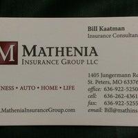 Photo taken at Mathenia Insurance Group LLC by William K. on 5/16/2013