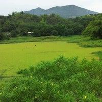 Photo taken at Mt. Arayat by Lhaine C. on 5/30/2013