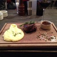 Снимок сделан в Red. Steak & Wine пользователем Irina K. 11/2/2014