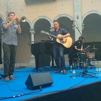 Photo taken at Monestir de Sant Esteve by Uri A. on 6/21/2015