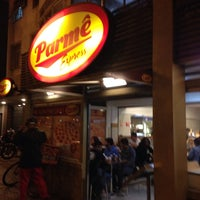 Photo taken at Parmê by Rodrigo A. on 8/16/2014