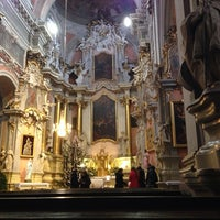 Photo taken at Church of St. Theresa by Yury S. on 1/25/2014