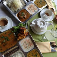 Photo taken at Ganesh Indian Restaurant by Eugenia on 6/11/2013