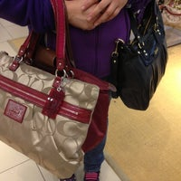 Photo taken at Coach Factory Store by Shug G. on 11/24/2012