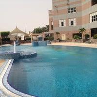 Photo taken at Jeddah Hilton Executive Lounge by Othman M. on 6/4/2013