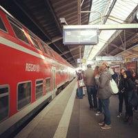 Photo taken at Bahnhof Frankfurt (Oder) by Chrlie S. on 10/20/2012