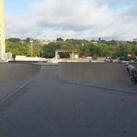 Photo taken at House Park Skatepark by James C. on 9/2/2014